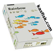 Papier xero kolor Rainbow szary  ppk302
