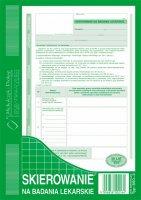 Skierowanie na badania lek. A5 40 kartek dr 288