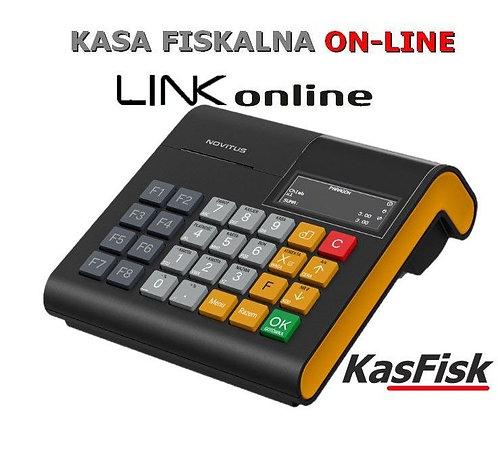 Kasa online Warszawa Novitus Link czarna