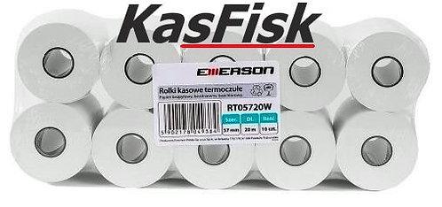 Rolka EMERSON termiczna 57mm x 20m 10szt