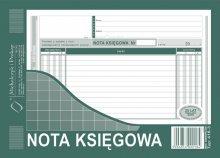 Nota Księgowa  A5 80 kartek   drk231