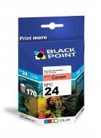 BLACK POINT Wkład CANON BCI-24 Kolor 15ml   xtk022