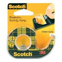 Taśma Scotch dwustr. klejąca przezroczysta tak041