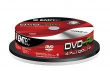 Płyta EMTEC DVD-RW (10) 4.7GB x4 Cake Box   xc 230