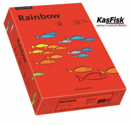 Papier xero kolor Rainbow ciemny czerwony   ppk156