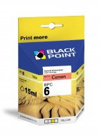 BLACK POINT Wkład CANON BCI-6Y Yellow 15ml  xtk054