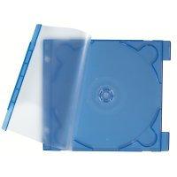 Etui na CD/DVD gr. 2,9 mm, przez-nieb.(10)  xz 115