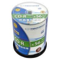 CD-R ESPERANZA Silver - Cake Box 100     xc 402