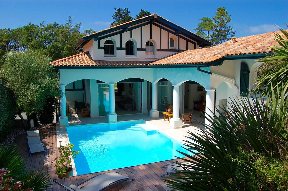 Superbe Villa balnéaire d'architecte à vendre à ANGLET Chiberta
