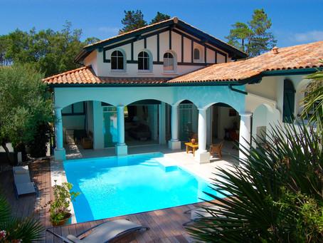 A VENDRE Superbe Villa balnéaire d'architecte au coeur de Chiberta à ANGLET 2 350 000 €