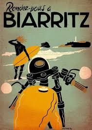 Affiche Biarritz 8