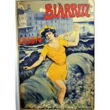 Affiche Biarritz 18