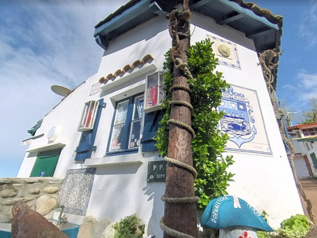 Les Crampottes : petites cabanes de pêcheurs typiques de Biarritz