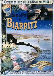Affiche Biarritz 25