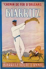 Affiche Biarritz 15