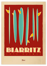 Affiche Biarritz 4