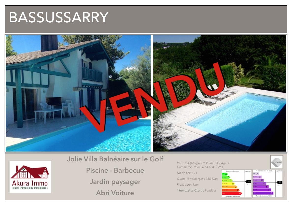 VENDUE Villa Bassussarry