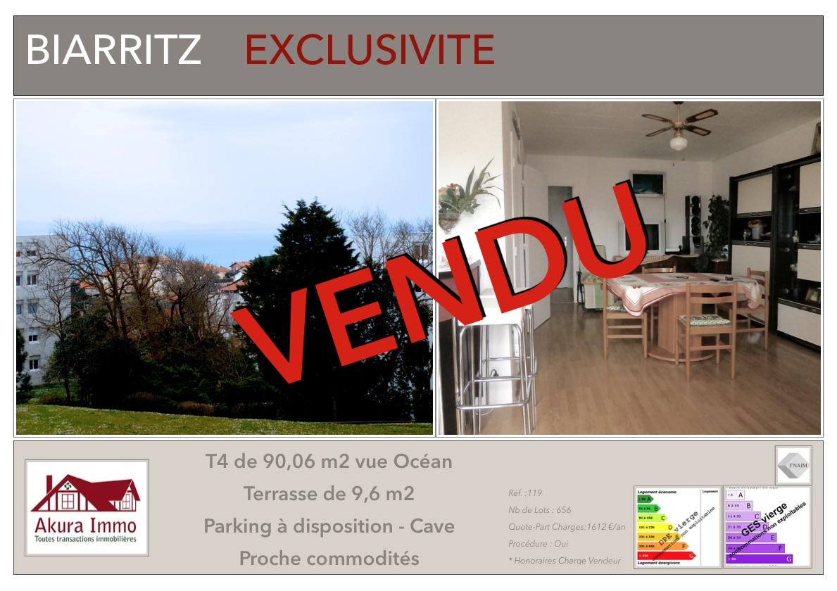 VENDU T4 Biarritz