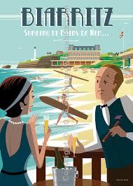 Affiche Biarritz 13