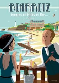 Biarritz en Affiches
