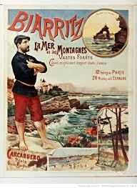 Affiche Biarritz 20