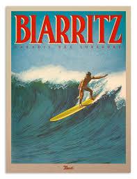 Affiche Biarritz 3