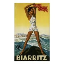 Affiche Biarritz 11