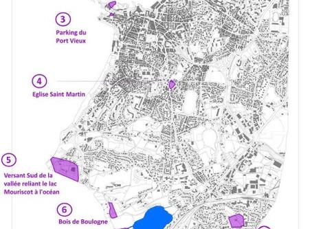 Les sites archéologiques à Biarritz