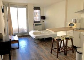 A VENDRE Studio avec petite terrasse au bord de la Grande Plage à BIARRITZ 170000 €