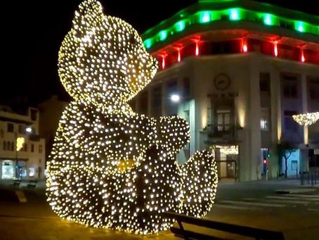 Biarritz et ses illuminations de Noël 2020