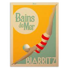 Affiche Biarritz 17