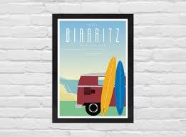 Affiche Biarritz 1