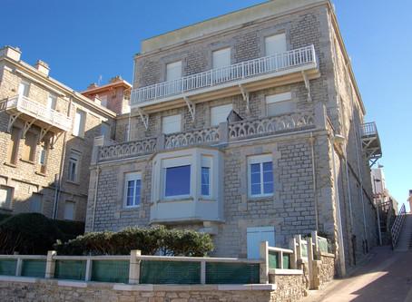 A VENDRE T5 dans Villa d'exception face à la plage du Miramar à BIARRITZ Impérial 1522500 €