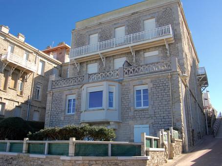 A VENDRE T5 dans Villa d'exception face à la plage du Miramar à BIARRITZ Impérial 1470000 €