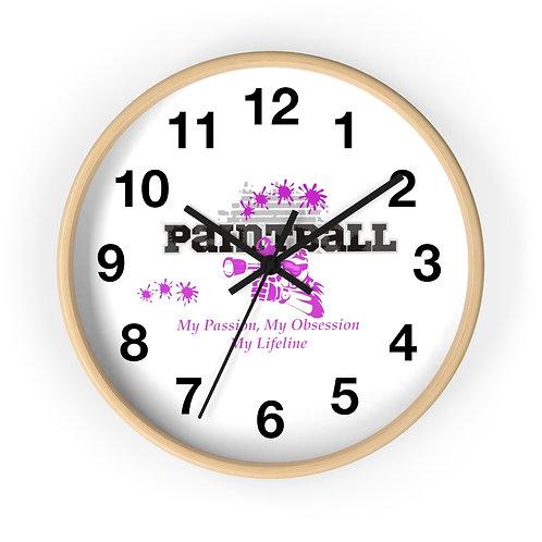 Paintball Wall clock