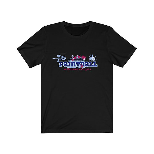 Paintball As extreme as it gets Unisex Jersey Short Sleeve Tee