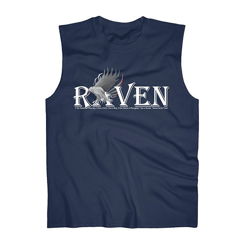 Raven by Revan Men's Ultra Cotton Sleeveless Tank