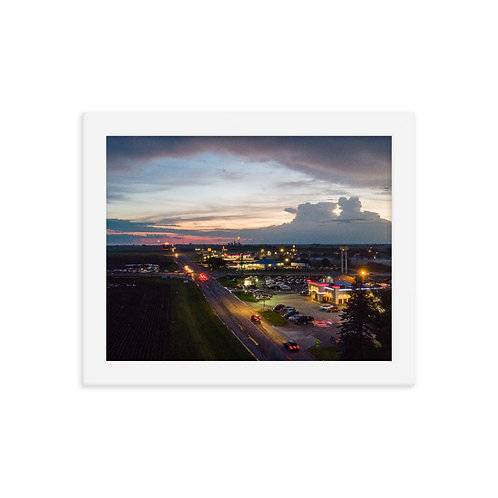 chenoa II Framed photo paper poster