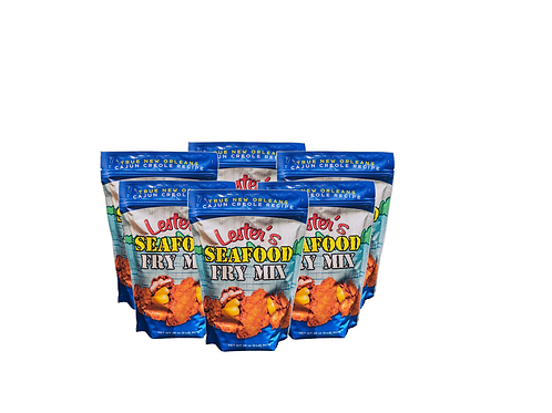 Lester's Seafood Fry Mix (6) 2 lb. Bag