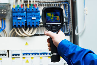 thermal imaging inspection of electrical