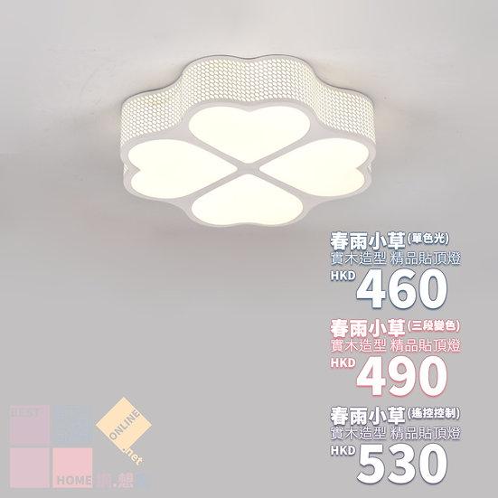 鐵藝燈體 春雨小草 精品貼頂燈 包送貨安裝 半年保養