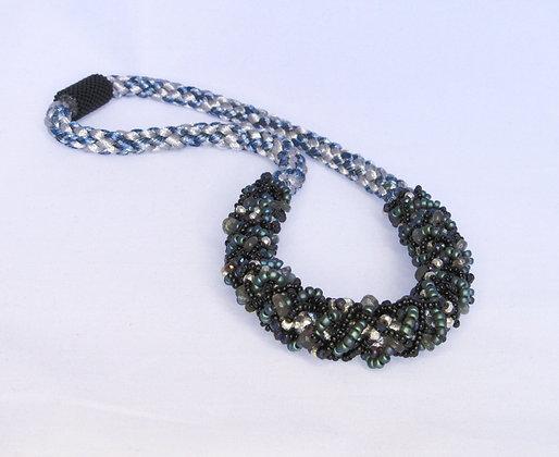 Inside Out Edo Yatsu Silk Necklace