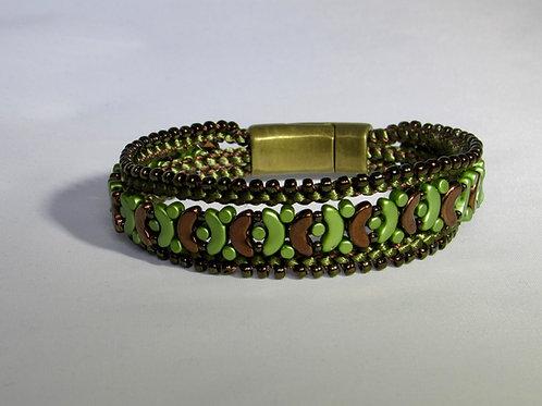 Butterfly 3 tiered Bracelet