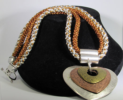 Triple Heart Necklace