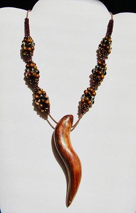 Driftwood Pendant Necklace