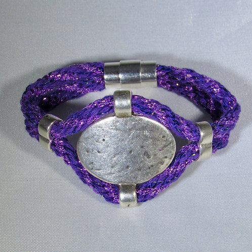Hues of Purple Bracelet