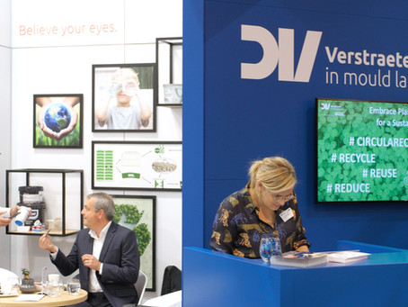 Verstraete in mould labels and Bockatech announce new partnership at K2019