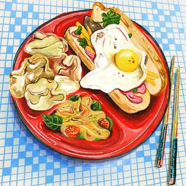 Stilllife Vietnamese Food
