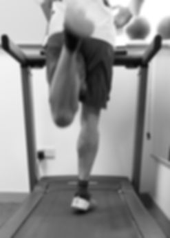 Slow motion running assessment carried out by nottingham physio sports injury clinic