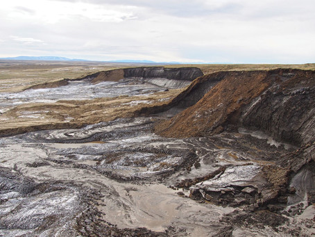 The disappearing permafrost